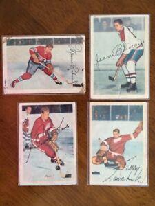 1953-54 Parkhurst complete set 1-100, Beliveau, Richard, Howe +