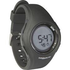 Stopwatch BLACK Chronometer Mens Size Timer Sports Watch Running Digital New