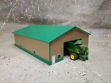 1//64 Custom scratch Farm green  fuel Barrel on stand