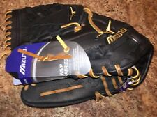 New Mizuno Mvp Series Gmvp1201Fr 12� Lefty Baseball Softball Leather Glove $99