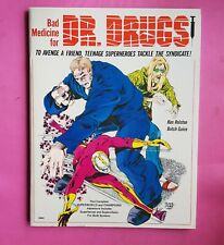 BAD MEDICINE FOR DR.DRUGS - SUPERWORLD CHAMPIONS CHAOSIUM BRP RPG ROLEPLAYING