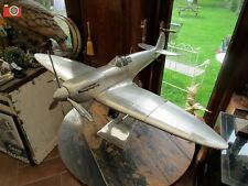 A WWII SPITFIRE MODEL. BEAUTIFUL REPLICA AIRCRAFT. AUTHENTIC MODELS. INCREDIBLE