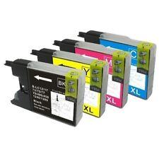 Jeu de cartouches compatibles avec imprimante MFC J6710 Brother ( LC1280 )