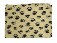 More details for wholesale 1 case 60 pieces paw print pet blanket 100cm x 120cm