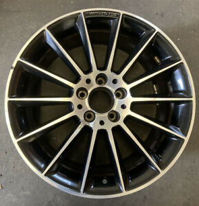 "Mercedes SLK SLC R172 Diamond Cut AMG Single Alloy Wheel 18"" A1724011900 9Jx18H2"