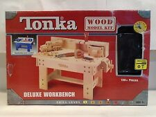 Tonka Deluxe Workbench - Wood Model Kit - HTF - Brand new in Box