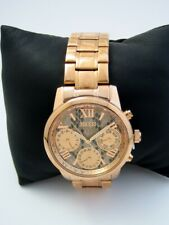 GUESS LADIES WATCH MINI SUNRISE W0448L9 ROSE GOLD STAINLESS STEEL BNWT
