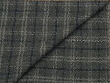 Kiton 100% Lana jacketing, mezcla gris oscuro con Tartán-Hecho en Escocia 3.7M