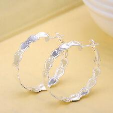 Silver Fashion Jewelry Earrings Beautiful Earrings Polished Earrings EH23