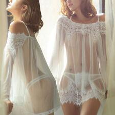 Lencería Sexy Mujer Ropa Interior PICARD�AS Pijama Sujetador de encaje vestido
