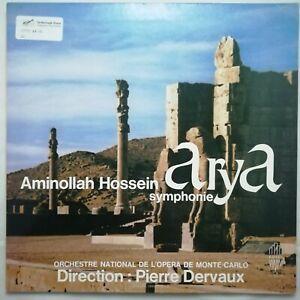 Edici LP ED 52721: Aminollah Hossein - Arya Symphony / Dervaux / Monte-Carlo