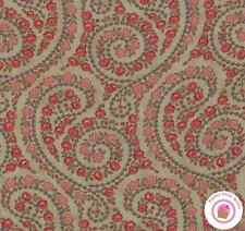 Moda VIN DU JOUR Stone Brown Paisley 44025 15 by 3 Sisters QUILT FABRIC