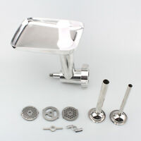 Steel Meat Grinder Mincer Sausage Stuffer Attachment For KitchenAid Stand Mixers