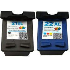 2 encres compatibles pour HP21 HP22 cartouche d'encre Rechargée pour HP 21 22