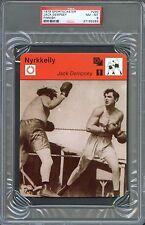1978 Sportscaster Finnish JACK DEMPSEY Jess WILLARD Boxing Card PSA 8 Very Rare!