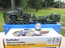 Vehicule militaire Conrad 1/50 Man 6x4 Semi-remorque LIEBHERR L 576 MIB