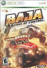 Baja: Edge of Control  --  Microsoft Xbox 360 Game Complete  ***Guaranteed*** Z