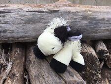 Ganz Webkinz HM003 Black & White Cow Plush Stuffed Animal - No Codes