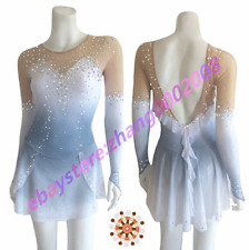Ice skating dress.Competition Figure Skating Baton Twirling Dance Dress
