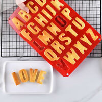 Letters Cake Fondant Mold Mould Non-stick Bakeware DIY Kitchen Baking Tool