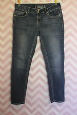 Rue 21 Low Rise Jeggings Size 9/10 Medium Wash Jeans Trendy Fashion
