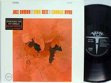 STAN GETZ - Jazz Samba LP (STEREO US Press on VERVE w/flat Labels, RE1/RE2 Mix)