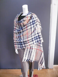. 45rpm 45R mohair, nylon, alpaca, wool scarf NEW with TAG