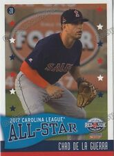 2017 Carolina League All Star N Chad De La Guerra RC Rookie Red Sox