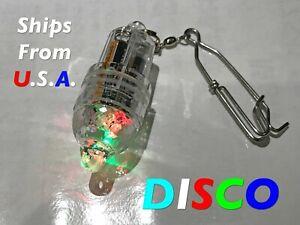Deep Drop LED fishing light, DISCO FLASH, Grouper, Swordfish, FREE ship from USA