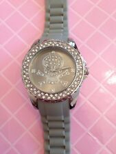 Grey Skull Rubber Watch Dimonte - Needs Battery