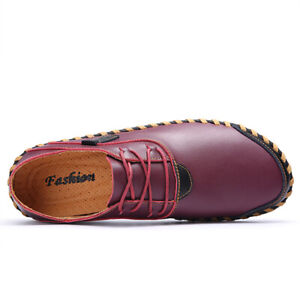 Mens Driving Moccasins Flats Chic Leisure Faux Leather Soft Non-Slip Pumps Shoes