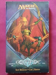 Magic The Gathering EVENTIDE PAPERBACK NOVEL SHADOWMOOR CYCLE BOOK MTG