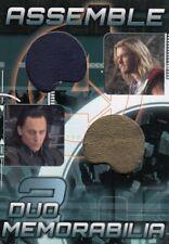 Avengers Assemble AD-22 Thor / Loki Dual Memorabilia Relic Card b