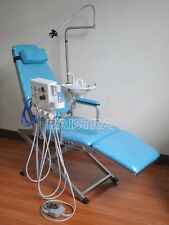 CA Dental Portable Turbine Folding Chair DF-C006 Luxury LED Light 3 Way Syringe