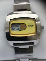 Citizen Women's Vintage Digital Quartz Watch model 6038-L16298