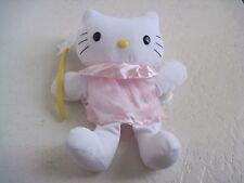 "11"" Sanrio HELLO KITTY HAND PUPPET PINK DRESS W/ STAR Plush Stuffed Animal"