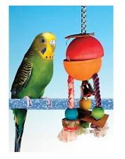 Penn Plax Caribbean Hide-A-Treat Parakeet/Cockatiel Bird Toy SMALL - BACH1W