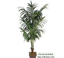 8.5' Artificial Kentia Palm Trees Silk Plant Extra Full