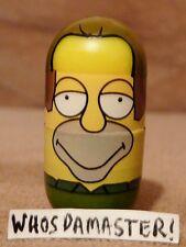 Simpsons Mighty Beanz 2004 #7 LENNY LEONARD Bean Retired Free US CS