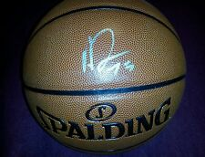 ANTHONY DAVIS SIGNED BASKETBALL NEW ORLEANS PELICANS HORNETS