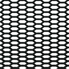 """Car Truck Mesh Grille Honeycomb ABS Plastic Universal Vents 46.5""""x15.5"""" Sheet"""