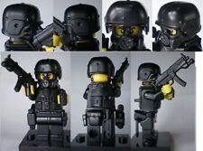 (no.10-3) custom swat police helmet military gun army weapons LEGO minifigures