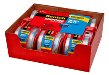 Scotch Heavy Duty Shipping Packaging Tape Dispensers 6 Rolls 188 In X 222 Yd