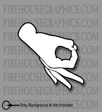 Gotcha Look at it Logo Vinyl Decal