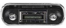 NEW! 1967-1973 Mustang AM FM USA-230 Stereo Radio Chrome Knobs 200 Watts