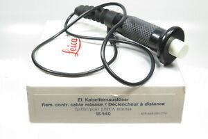 LEICA 18540 Elektrischer Kabelfernauslöser für Minilux / Z2X
