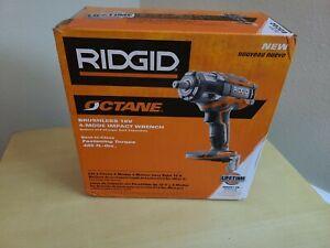 "RIDGID R86011B 18v 1/2"" Cordless Impact Wrench Brushless OCTANE New In Box"
