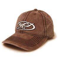 Black Salamander Pigment Dyed Choc Brown Baseball Cap - PC7 - New