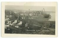 RPPC Aerial TODDVILLE MD Eastern Shore Dorchester County Real Photo Postcard