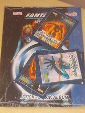 Marvel _FANTASTICI 4 four _Album vuoto_+ 4 pacchetti nuovi di figurine_anno 2005